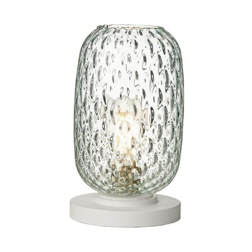 Vidro Table Lamp Clear Glass Small VID4208 (Hand made, 7-10 day Delivery)